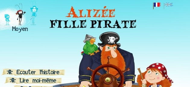 Alizée, fille pirate