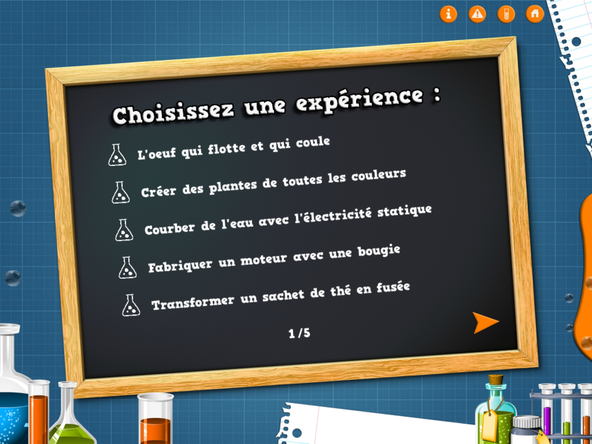 Petites exp riences scientifiques - Creation a faire a la maison ...