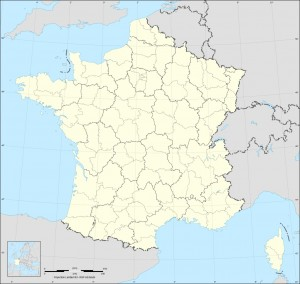Geo Departements - Carte Wikimedia