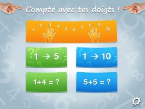 Compte doigts - Accueil